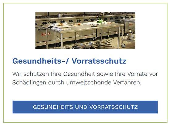 Gesundheitsschutz und Vorratsschutz bei  Hildrizhausen