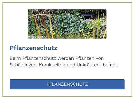 Pflanzenschutz im Raum  Hildrizhausen