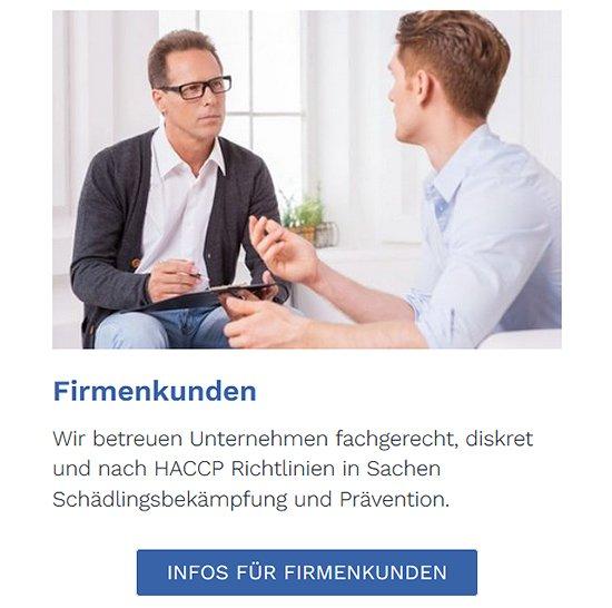 Schädlingsbekämpfung für Firmenkunden für  Hildrizhausen